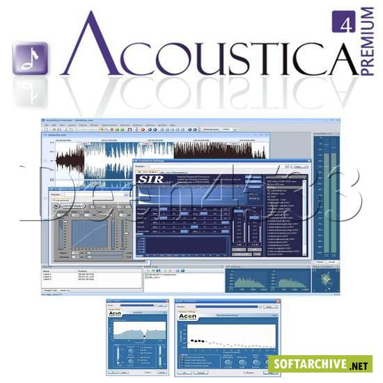 Acon Digital Media Acoustica Premium v4.1