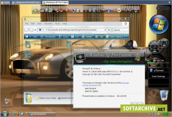 Windows xp pro sp3 final gold cobra get now rs com 697mb